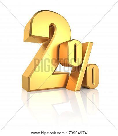 Gold 2 Percent