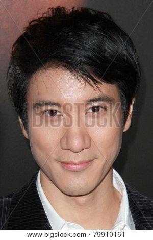 LOS ANGELES - JAN 8:  Leehom Wang at the
