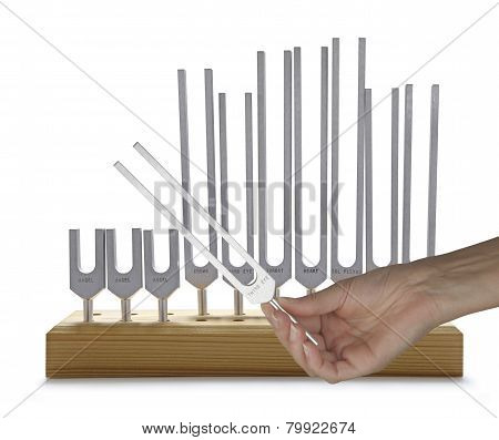 Using Sound Healing Tuning Forks
