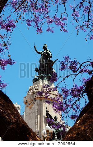 Statue in Buenos Aires