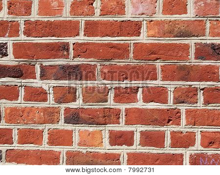 Red brickwall