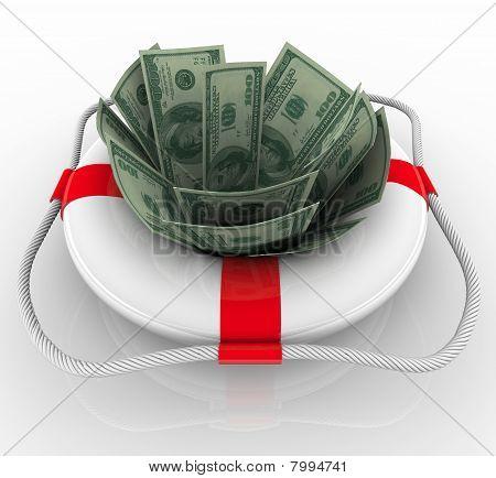 Financial Aid - Life Preserver