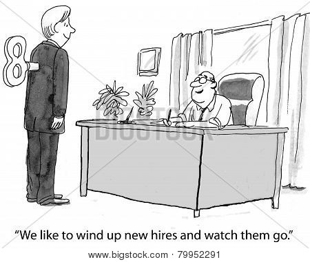 New Hire for Job