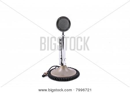 Old Fashion Microphone