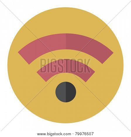 Wifi Wireless Technolgy Online Newtwork Icon Vector Concept