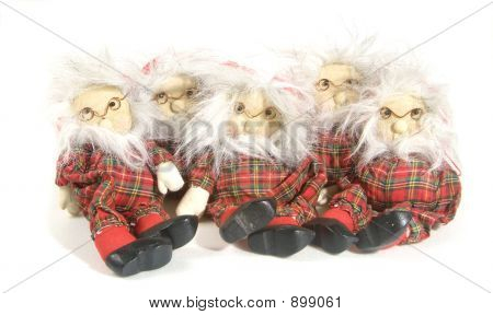 Traditional Christmas Puppets