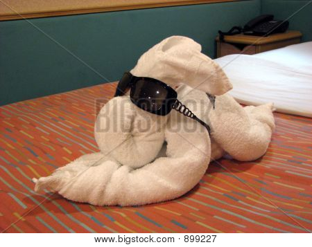 Rabbit Towel