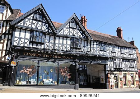 Tanners Wine Merchants, Shrewsbury.
