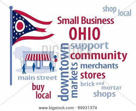 Small Business Ohio, The Buckeye State Flag