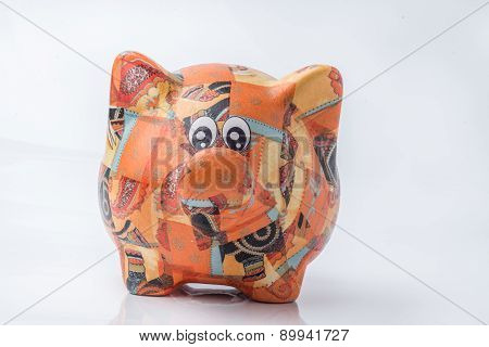Savings And Earning Piggy. Personal Finance.