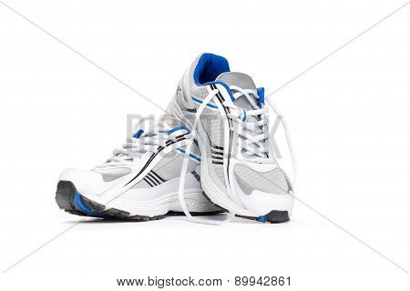 Sport Shoes Isolated On White