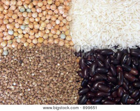 Beans And Grain Four Quarters