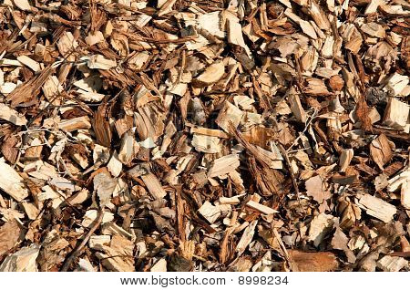 A Lot Of Wood Chips
