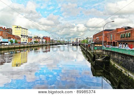 Cork. Lapp's Quay And River Lee