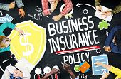 Business Insurance Policy Guard Safety Security Concept poster