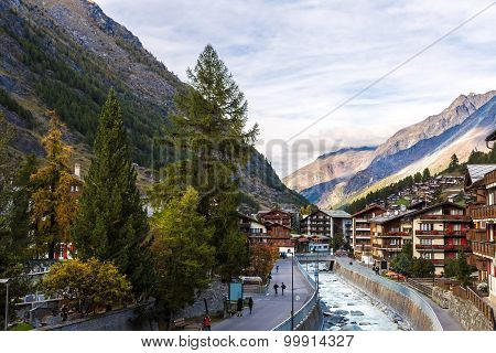 Ski Resort Zermatt