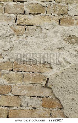 Vertical Brick Wall