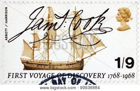 Hms Endeavour Stamp