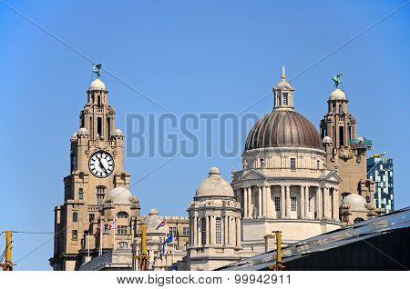 The Three Graces, Liverpool.