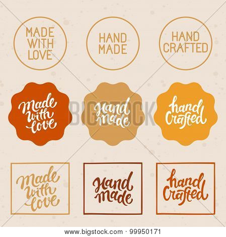Vector Set Of Design Elements And Badges