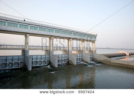 Modern dams on The Yangtze River of China