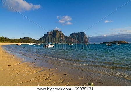 Lagoon on Lord Howe Island