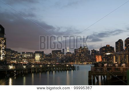 View Of Manhattan From Long Island City