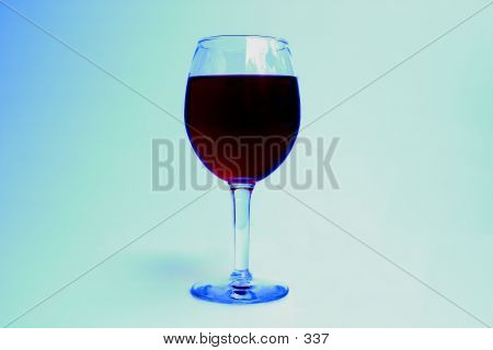 Wine On Background