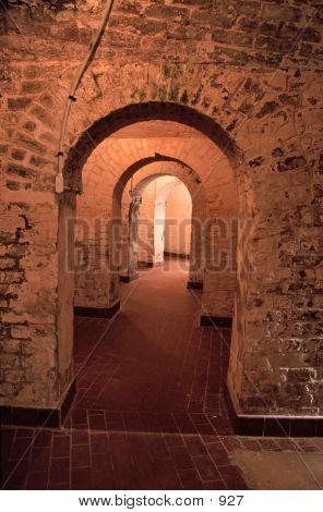 Curving Hallway