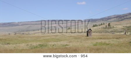 Wyoming Outhouse