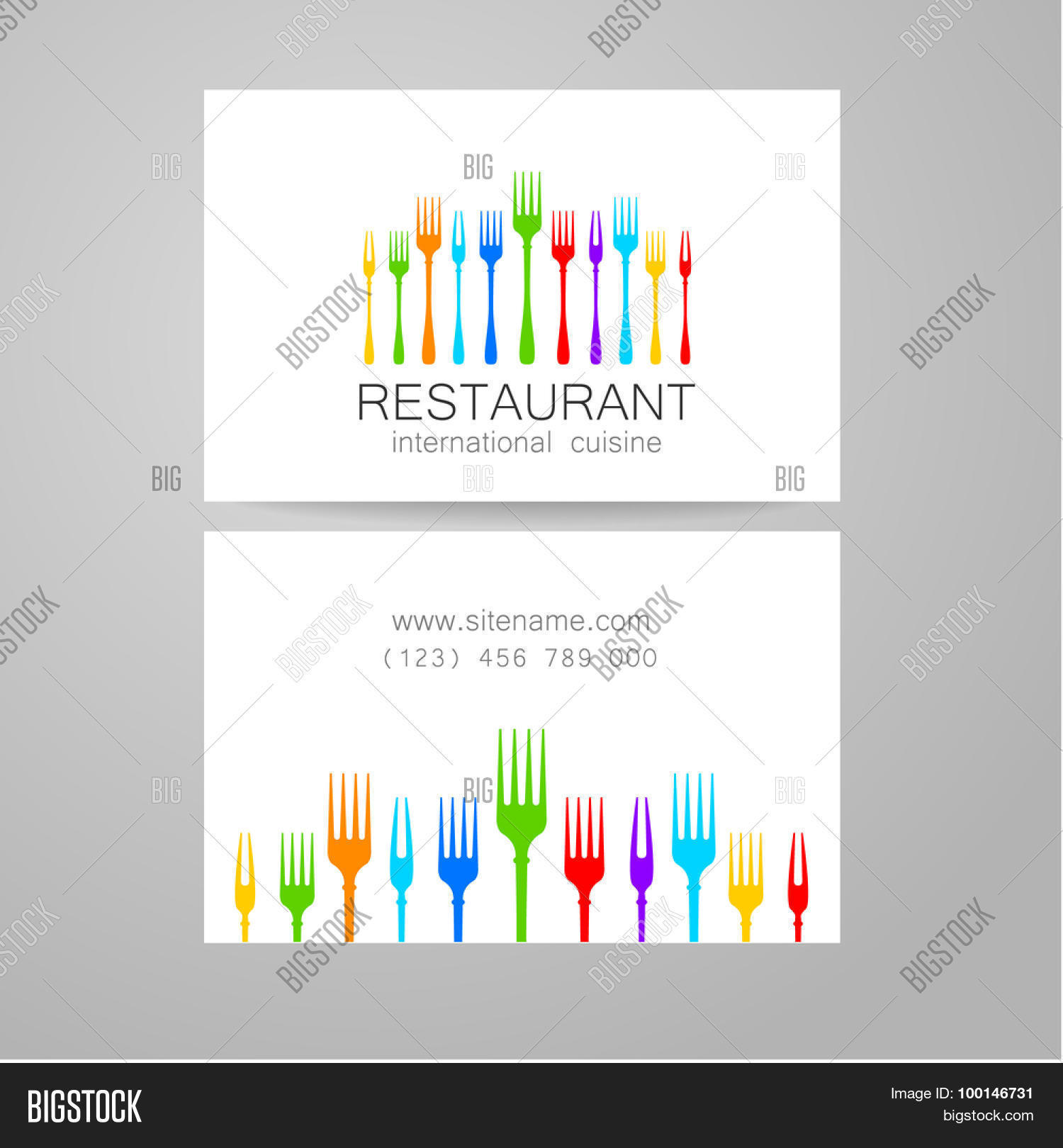 Restaurant logo template design vector photo bigstock the concept of corporate style restaurants serving international cuisine create a lightbox magicingreecefo Image collections