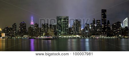 Panoramic Photo Manhattan