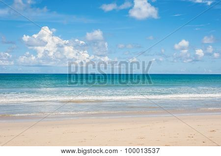 Beach And Blue Sea