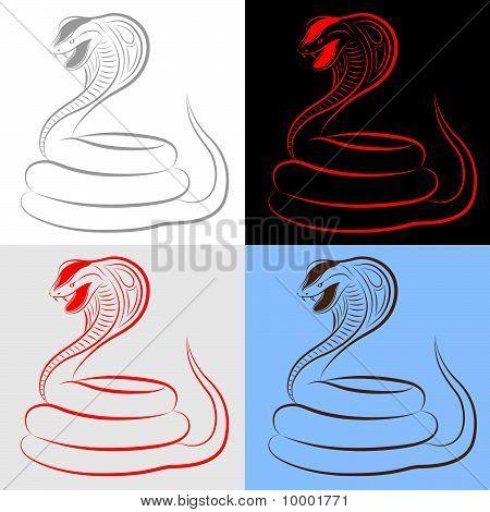 Snake, Cobra, Set