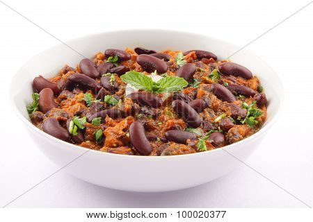 Kidney bean or Rajma curry-Indian cuisine.