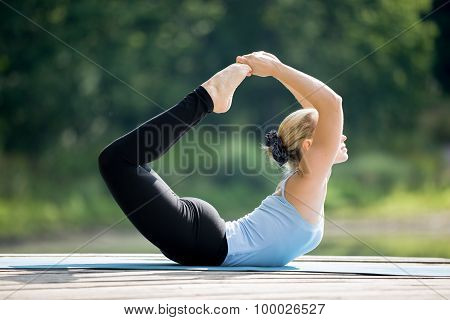 Big Toe Bow Pose