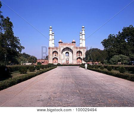 Akbars Mausoleum, India.