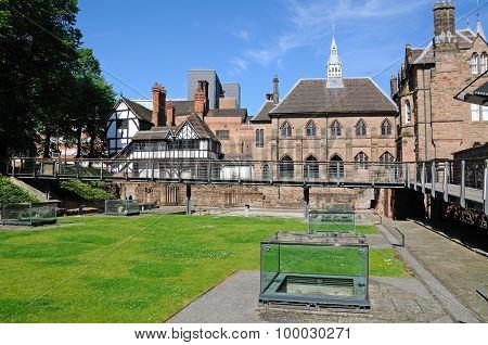 St Mary Priory Gardens, Coventry.