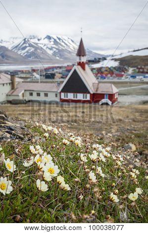 Church In Longyearbyen, Svalbard, Norway