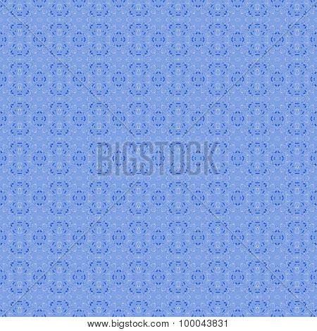 Seamless pattern blue