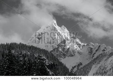 Majestic Alpine Peak