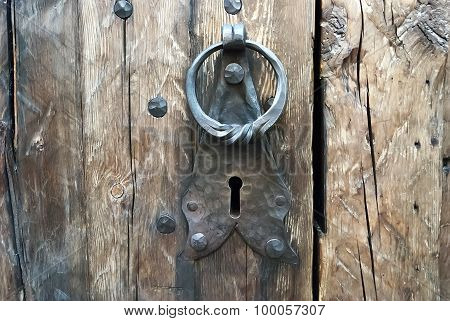 Forged Doorknob