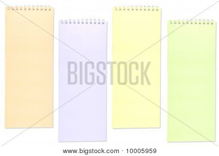 Color of notebook