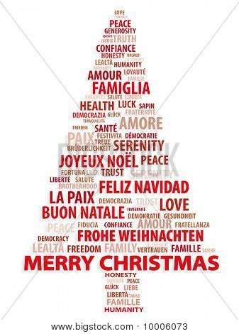 Merry Christmas In 10 Different Languages