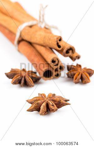 Stars Anise And Cinnamon