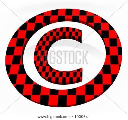 3D (C) Copyright Sign