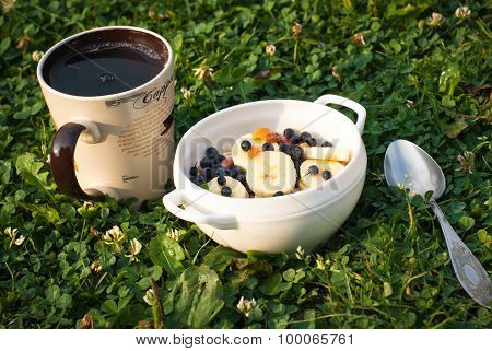 Healthy Breakfast Open Air