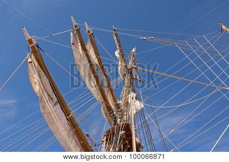 Mast Of Sail Ship