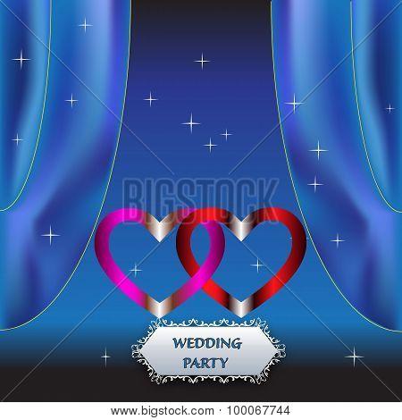 Wedding Party Night Invitation