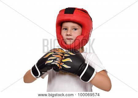 Muay Thai Boxing Kid